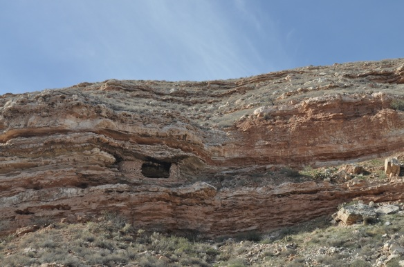 An ancient Sinaguan cliff dwelling